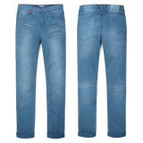 Fashion Design Men Straight Denim Jean (YNW1505F)