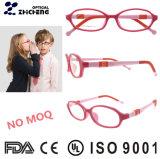 Silica Gel Soft Kid Eyeglasses Multicolored Children Optical Frame