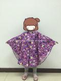 190t Kid′s Polyester/PU Printed Rain Poncho