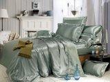 Taihu Snow Home Textile Oeko-Tex Quality Bed Linen Sheet Seamless Silk Bedding Set