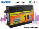 Suoer 10A Battery Charger 24V Smart Battery Charger with Four-Stages Charging Mode (MA-2410)