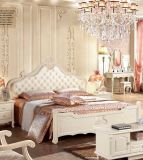 Lizz Royal Style Grace Genuine Leather Bed Jh821