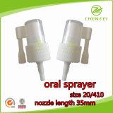 Custom Order 20/410 Plastic Oral Pump Sprayer for Medicine Usage
