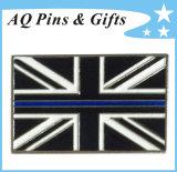 UK Metal Flag Pin Badge in Soft Enamel Badge (badge-123)