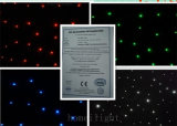 RGBW 4 Colors LED Star Light Curtain with 17 Programs, CE LED Star Cloth