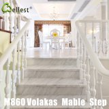M860 Volakas White Marble Step/Stairs/Treads with Bevel Edge