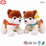 Plush Quality Standing Dog Toy with Ring Bells Gift