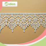 Fancy Flower Pattern Water Soluble Customized Embroidery Lace