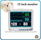 15 Inch Portable Vet Veterinary Patient Monitor with Multi Parameters