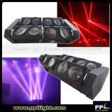 New Spider Four Heads 8*10W Full Color LED Beam Light with Endless Rotation