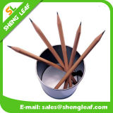 Stationery Items Wooden Custom Logo Pencil (SLF-WP006)