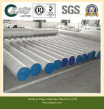 ASTM 304, 316, 321 Circle Stainless Steel Tube