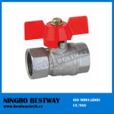 Forged Italy Brass Ball Valve Butterfly Handle (BW-B48)