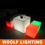 Color Changing 3D LED Sitting Cubes