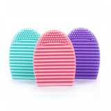 Custom Logo Silicone Makeup Brush Cleaning/Egg Shape Brush Cleaner