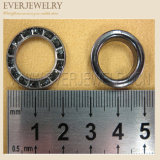 Wholesale 22mm Big Round Metal Brass Rhinestone Eyelets for Jeans