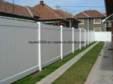 ASTM Certified & Lifetime Warranty 100% New White / Grey / Brown Vinyl Fence / PVC Fence / Privacy Fence