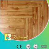 Commercial 12.3mm Embossed Hickory Waxed Edged Lamianted Flooring