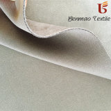 Dyed Elastic Polyester Scuba Suede for High-End Women′s Wear