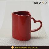 Factory Direct Supply Heart Shape Ceramic Mug