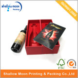 Red Wine Gift Box with Red Inner Packaging Box