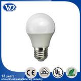 B22 Plastic Covering aluminium LED Bulb 7W