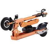 Electric Bicycle with Seat Portable E Bicycle Foldable Ebicycle Skateboard