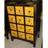 Chinese Antique Wood CD Cabinet Lwb475