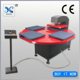 New Condition and Heat Press Plate Type Pneumatic Four Stations Heat Press Machine Fjxhb5-1