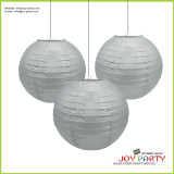 Silver Paper Lantern for Home Decoration