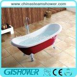 Red Finish Classic Soaking Bathtub (BL1010T)