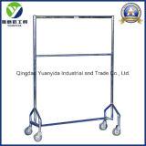 Nestable Steel Powder Coating Garment Rail