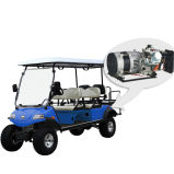 Electric Lifted Car/Cart/Buggy, Sightseeing Car, Utility Vehicle with Hybrid