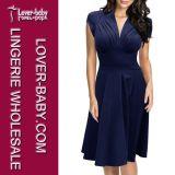 Stylish 2016 Wholesale Lady Office Dress (L36103-1)