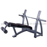 Commercial Fitness Machine Olympic Decline Bench with Coach Training