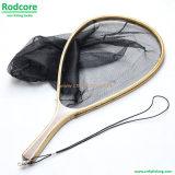 Ln06 Fishing Net Wooden Handle Landing Net