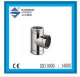 Chimney for Fireplace-90 Degree Tee