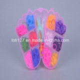 Two Feet Modelling, 12 Kinds of Color, Single, Rainbow of Knitting Machine, Fashion, Toys, Children′s Toys, Children′s Toys, Development Thinking