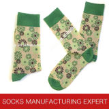 Custom Designed Cotton Sock for Man