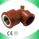 1/2 Inch 90 Degree PP Elbow Fittings with Brass
