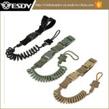 Tactical Two Point Rifle Sling Adjustable Bungee Sling 3colors