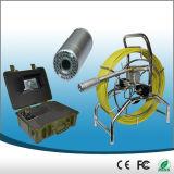 60m Push Rod Self-Leveling Camera Drain Pipe Inspection Camera