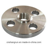 ANSI Stainless Carbon Alloy Steel Threaded Flange Yellow for Pipe Fitting