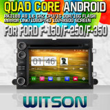 Witson S160 for Ford F-150/F-250/F-350/F-450/F-550/Fusion Car DVD GPS Player with Rk3188 Quad Core HD 1024X600 Screen 16GB Flash 1080P WiFi 3G Front DVR W2-M148