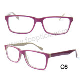 Acetate Optical Frame for Unisex Eyewear