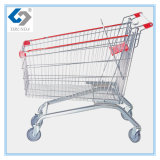 210L European Style Supermarket Shopping Carts with Big Capacity