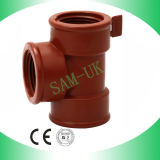 Pph Plumbing Fitting, Thread Pipe Fitting, PP Thread Tee