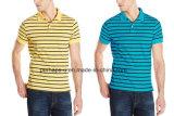 Sunshine Colorful Stripe Mens Cotton Polo Shirt