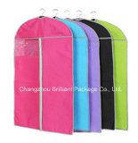 Non-Woven Dustproof Garment Bags Transparent PE Suit Cover (B2-4)