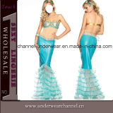 Deluxe Aquarius Mermaid Fairy Tales Party Adult Halloween Costume (TENN0026)